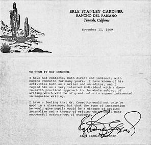 Gardner letter